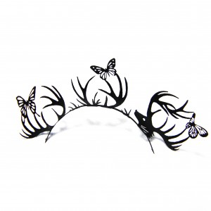 Longs faux-cils Deer&Butterfly - Paperself - 14,50 € (13 £) © Paperself