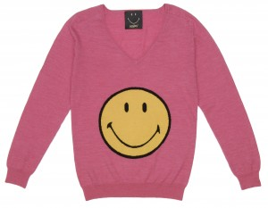 Pull rose Smiley - Smiley - 109.99 €  (84.99£)