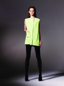 Robe gilet vert pistache - Louise Hardcastle - 555 € (475£)