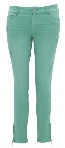 Pastel green skinny jeans - La Redoute - £39 ©La Redoute