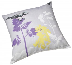 Edition Bird on Purple Tree Cushion - Debenhams - £25/39€ © Debenhams