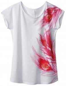 T-shirt asymétrique - La Redoute - £25/24.90 € © La Redoute