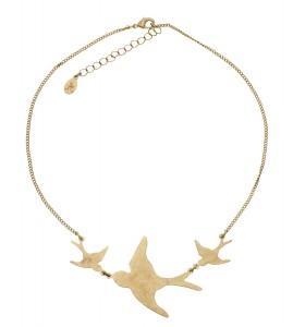 Flying Swallows Pendant - Accessorize - £5/6.90€ © Accessorize