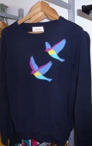 Pull oiseau - Louche